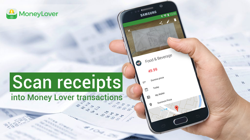 """Scan Receipt feature"" - all you need to manage receipts"