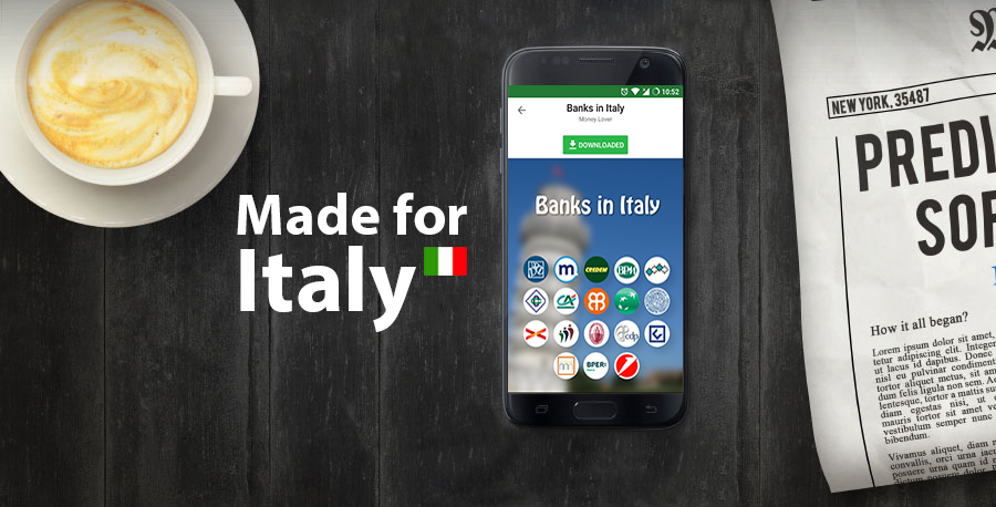 Italian users now can more enjoy using Money Lover with our newest icon pack.